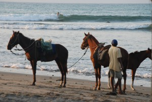 horseback riding in Mancora Peru