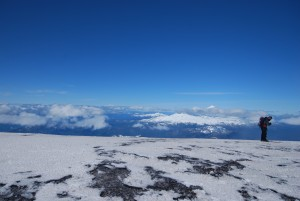 Climbing Volcan Villarica in Pucon Chile