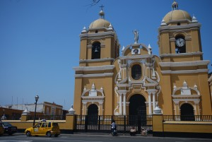 Plaza de Armas in Trujillo Peru