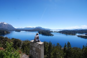 View of Lake Moreno, Circuito Chico, Bariloche Argentina