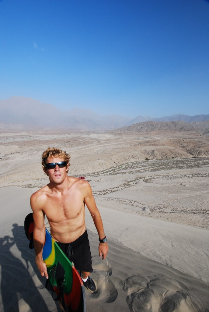 Been sandboarding in Peru? Why not write about it!