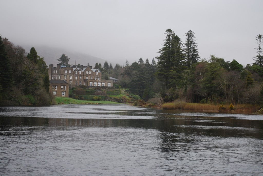 Ballynahinch Castle in Connemara Ireland