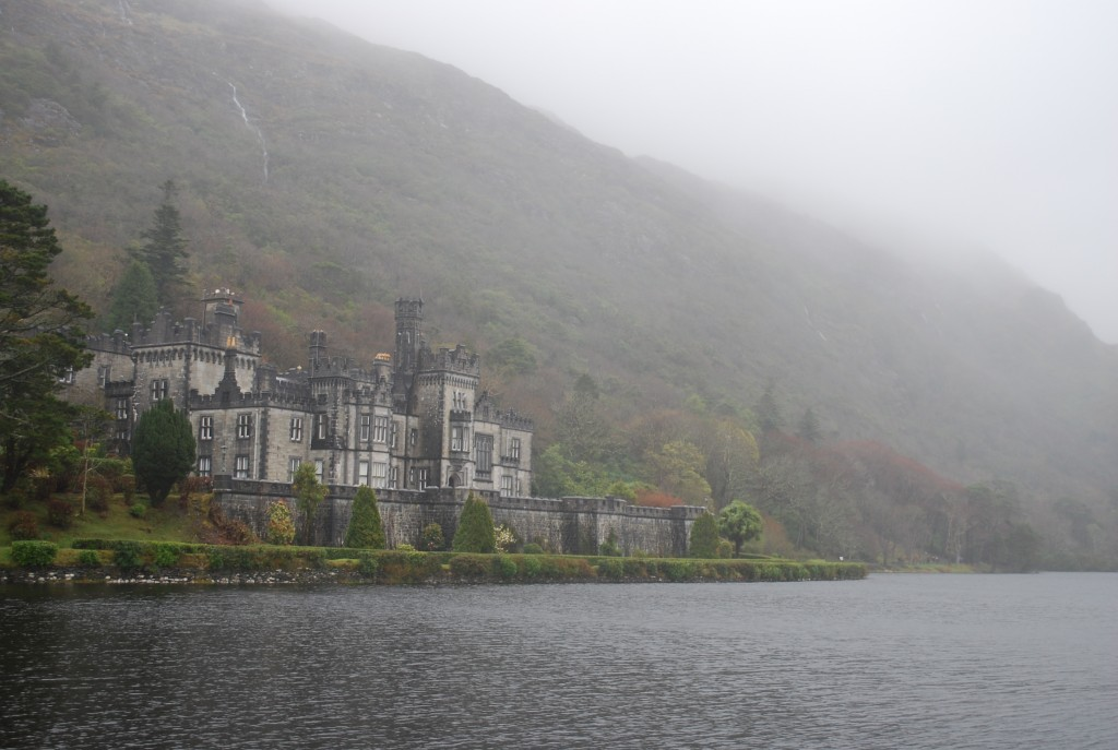 Kylemore Abbey in Connemara Ireland