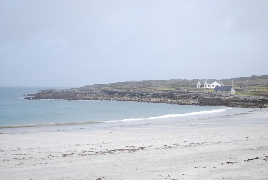 A Beach on Inis Mor on the Aran Islands Ireland