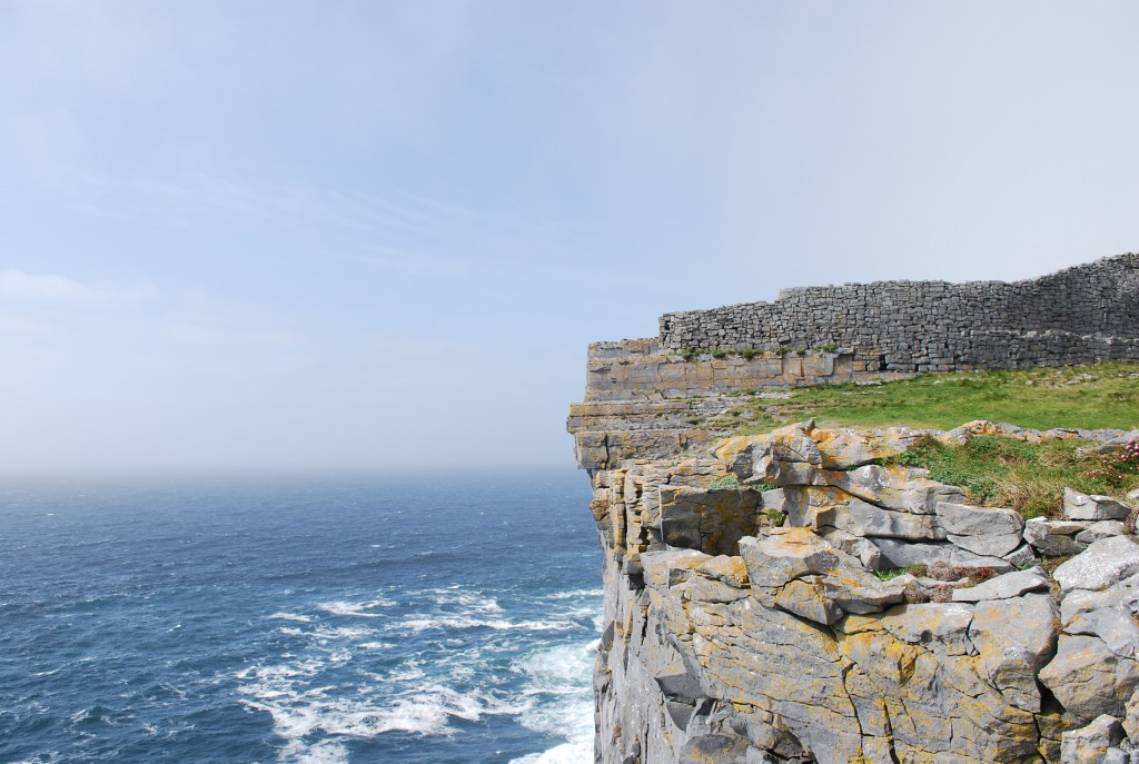 Dun Aengus Fort on the Aran Islands Ireland